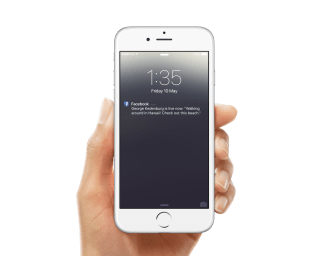 Live Notifications iOS
