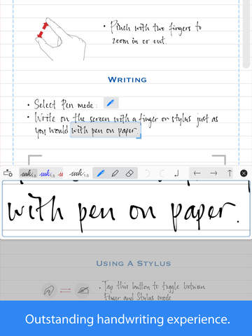 apple writing paper
