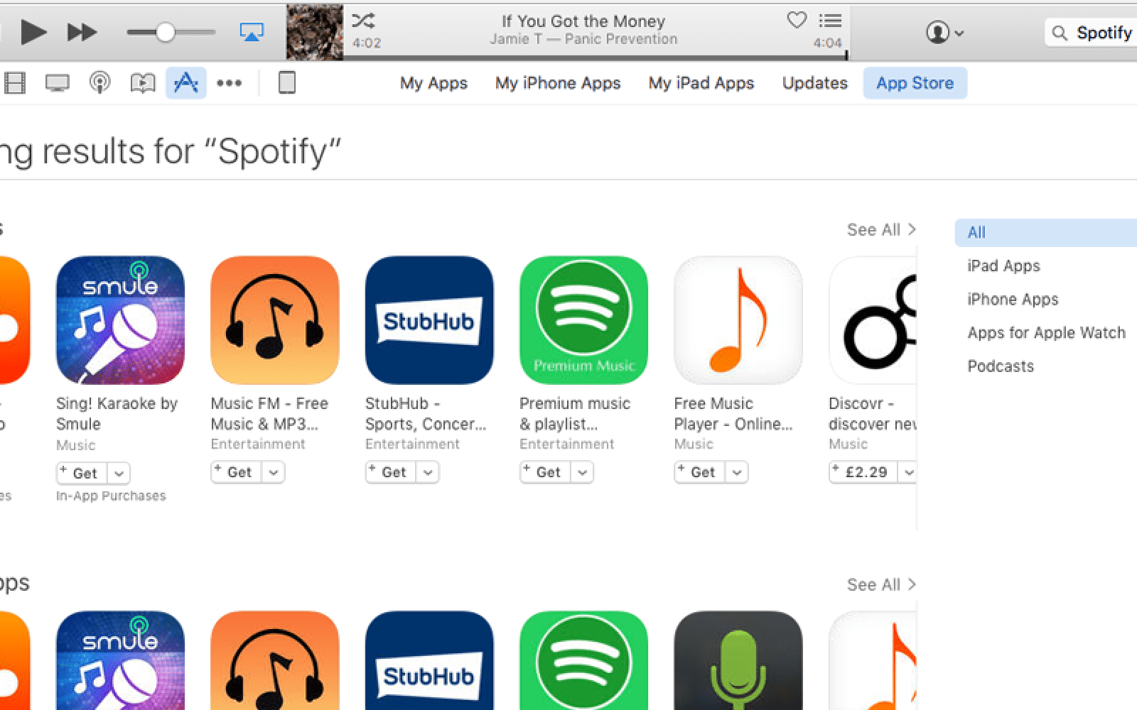 Search problems in iOS & Mac App Stores, with major apps failing to