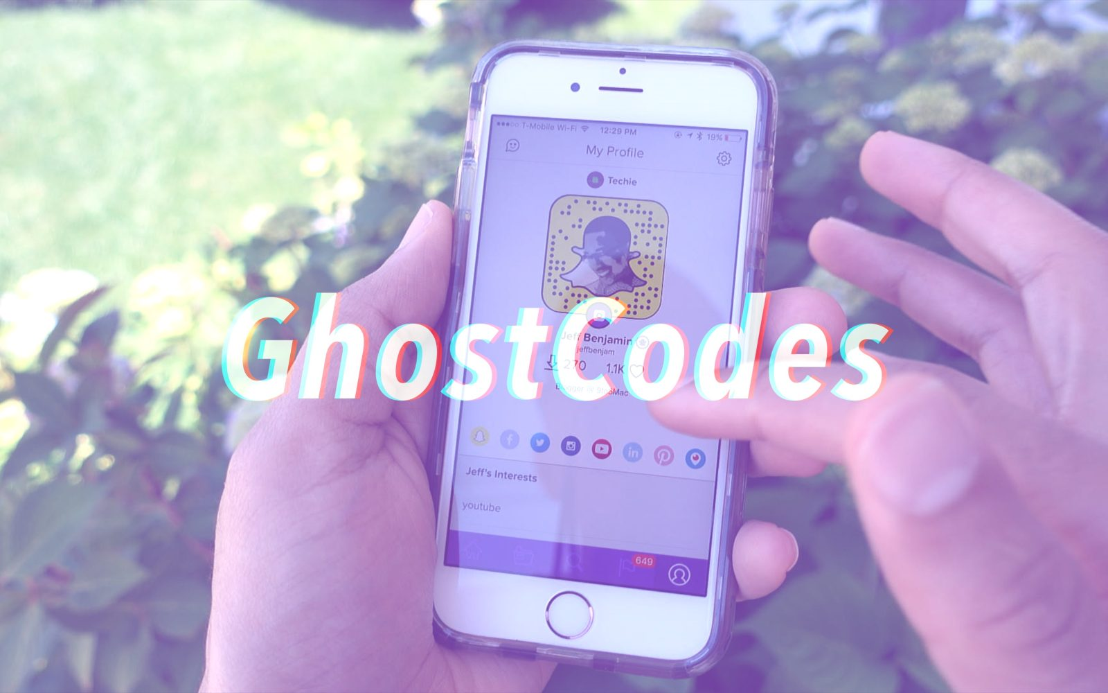 GhostCodes makes it easy to discover new Snapchat users [Video]