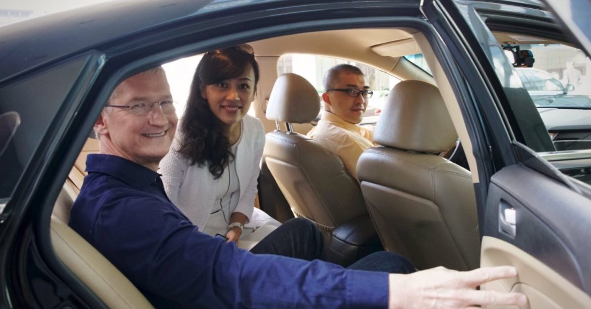 Apple-backed Chinese ride service Didi Chuxing files privately for IPO with ~$100B valuation