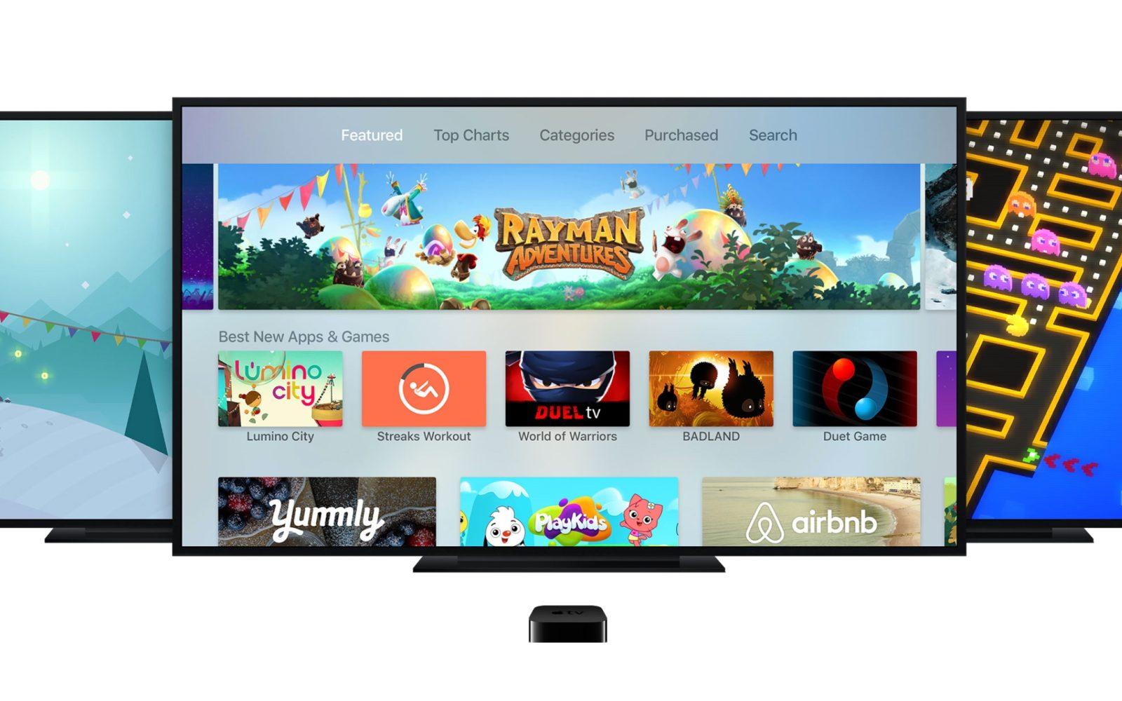 Apple TV App Store Top Charts algorithm now hides apps that you