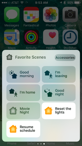 iOS 10 Home HomeKit app