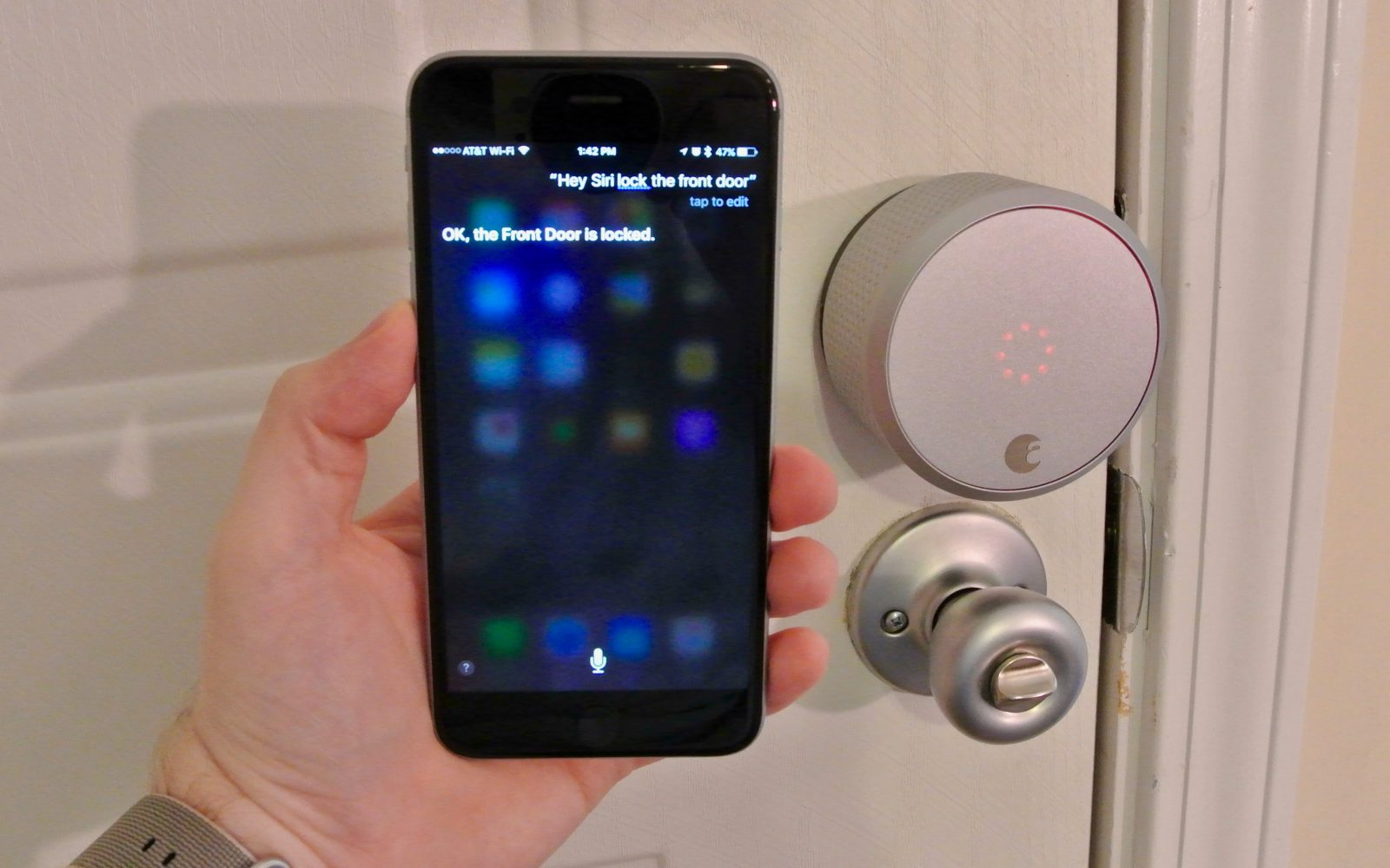 Review Siri Controlled August Smart Lock Is A Key Upgrade To A