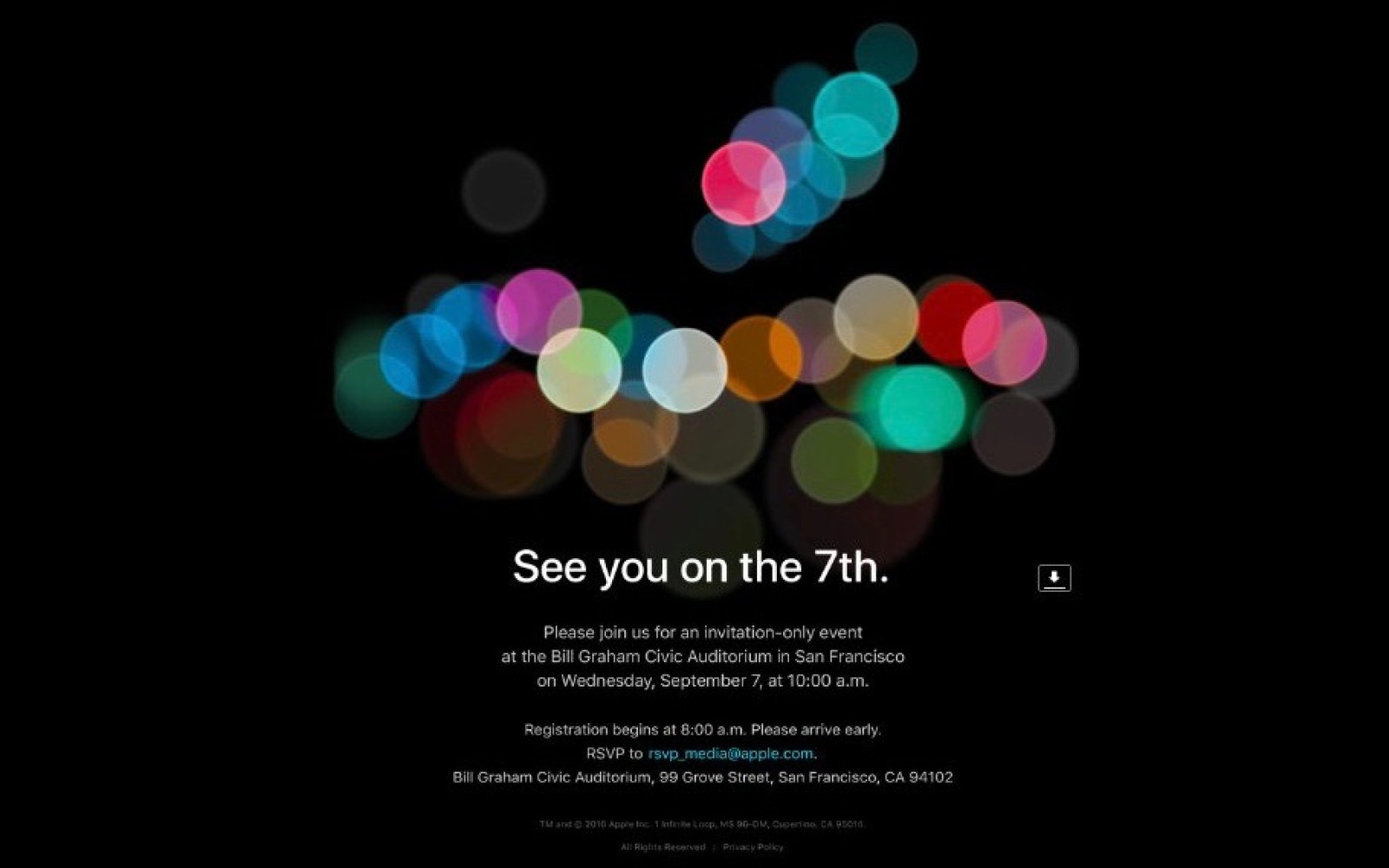 Apple announces 'iPhone 7' September 7 event, Apple Watch 2 and MacBook Pros may be unveiled