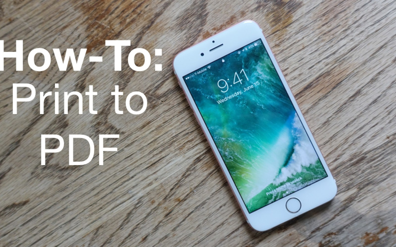 iOS 10 How-To: Print to PDF from anywhere in iOS using 3D Touch