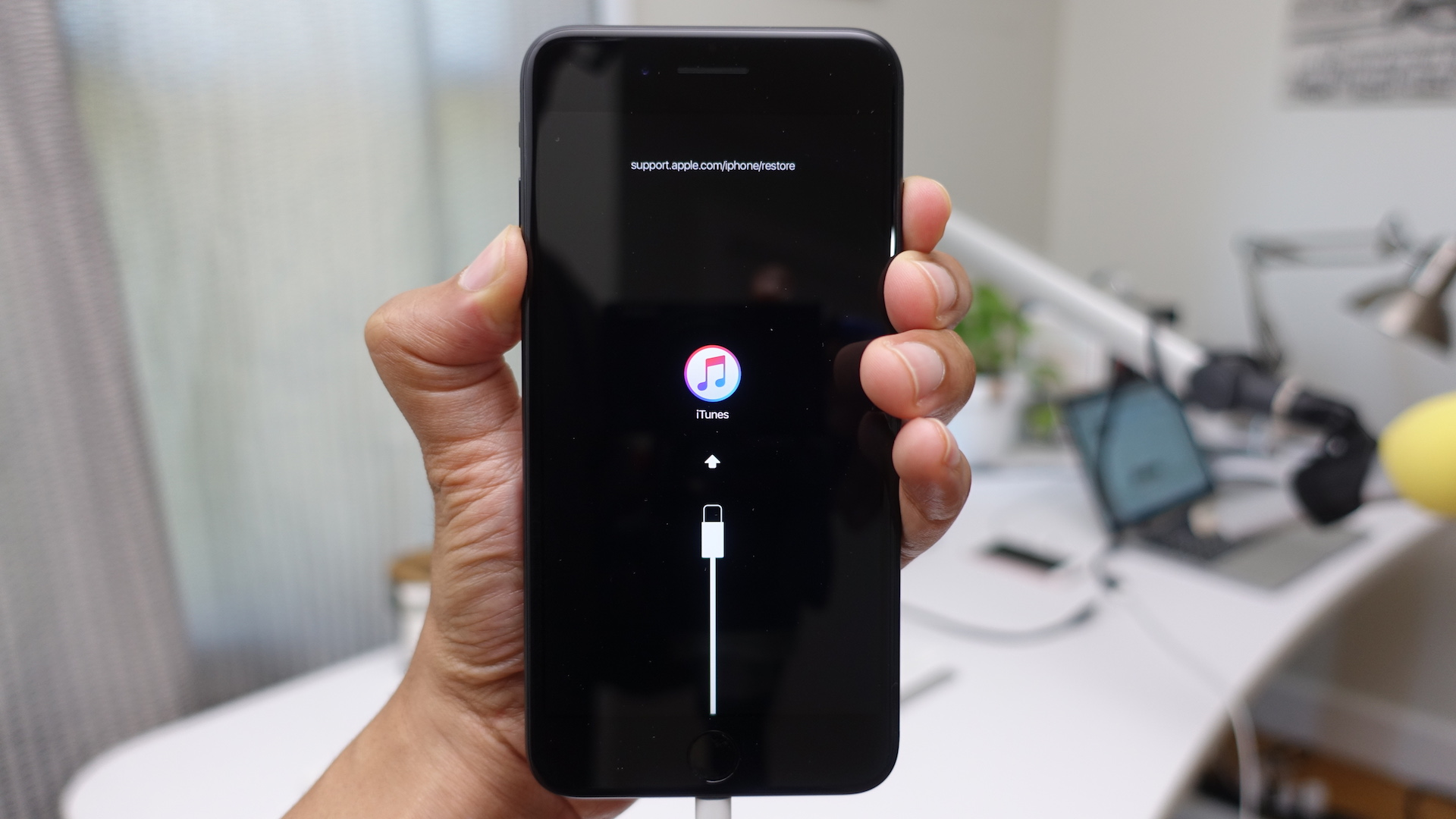 how to restore iphone 7