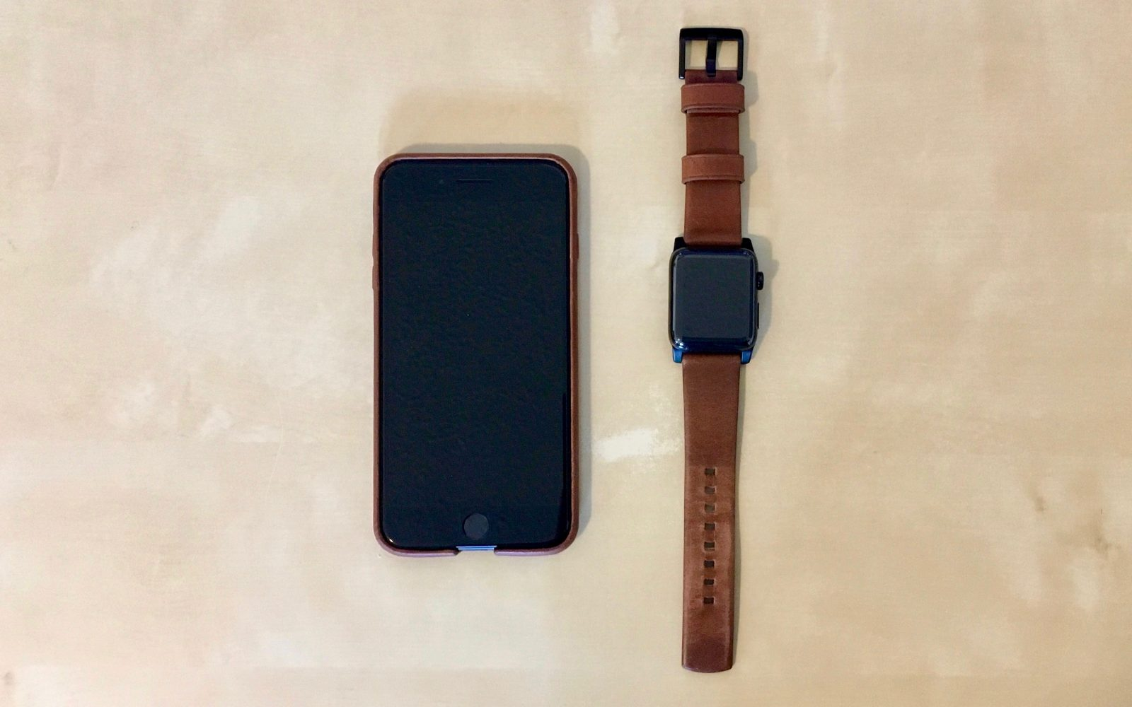 info for 67216 a367d Review: Nomad Horween Leather iPhone 7 Plus Case + Apple Watch Strap ...