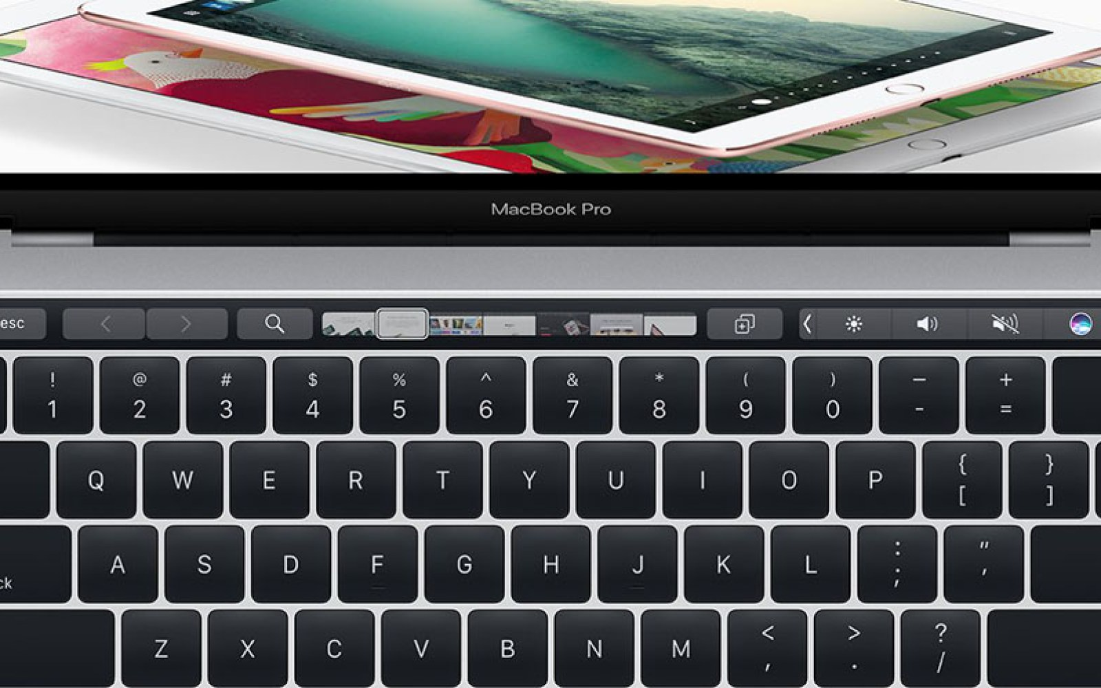 Jony Ive rejected touchscreen Mac, but working on things beyond the Touch Bar