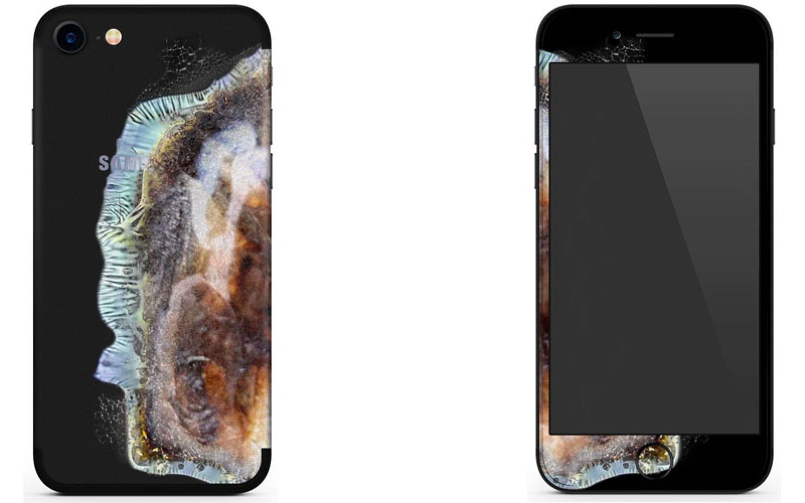 newest f7e6b f5ee0 Feeling your iPhone isn't quite as hot as a Samsung Note 7? There's ...