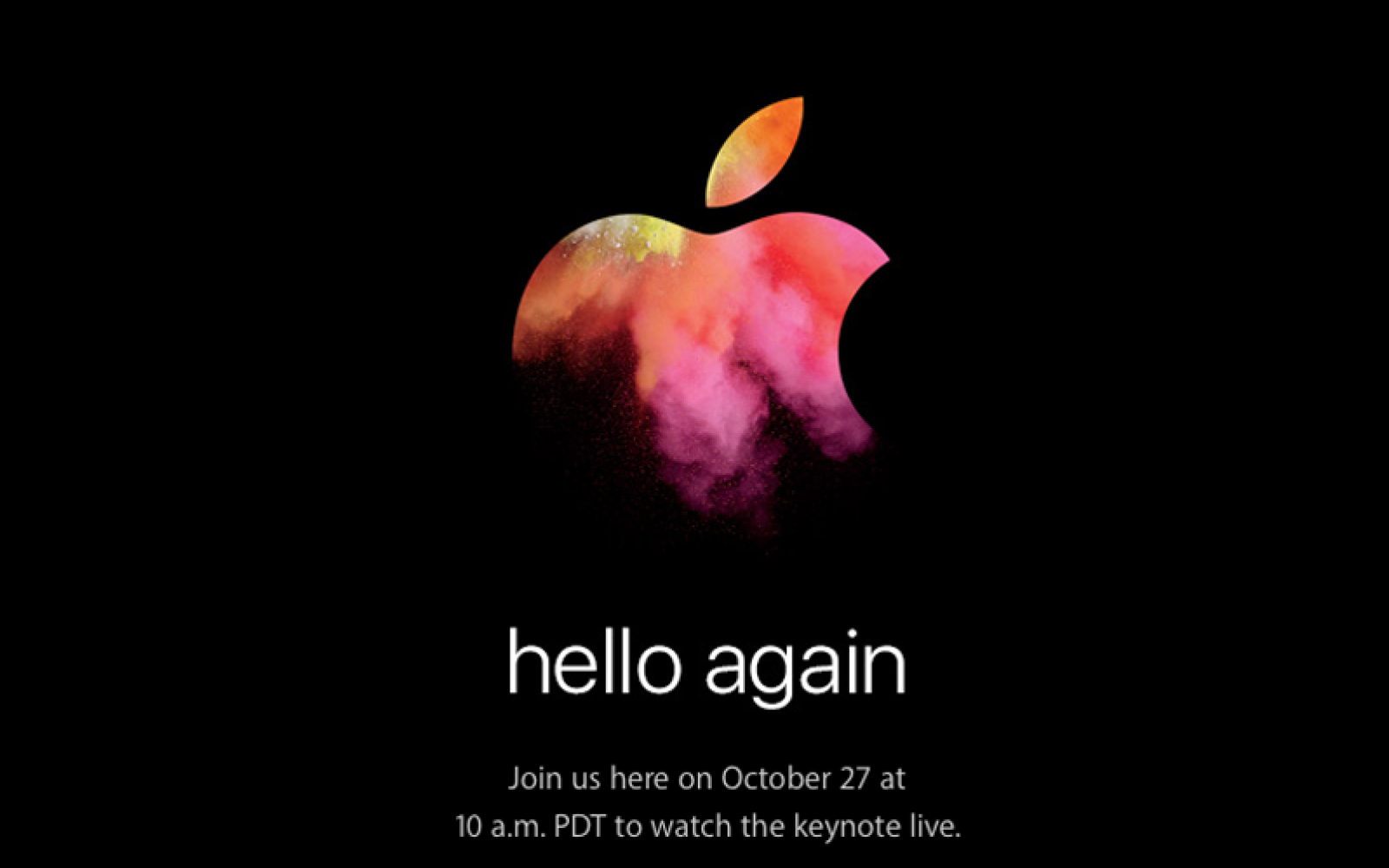 How to view/stream today's Mac-focused Apple keynote
