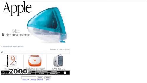 Bondi Blue iMac, 2000