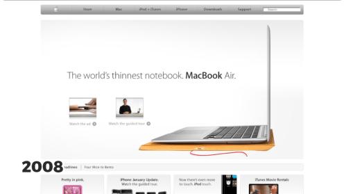 MacBook Air, 2008