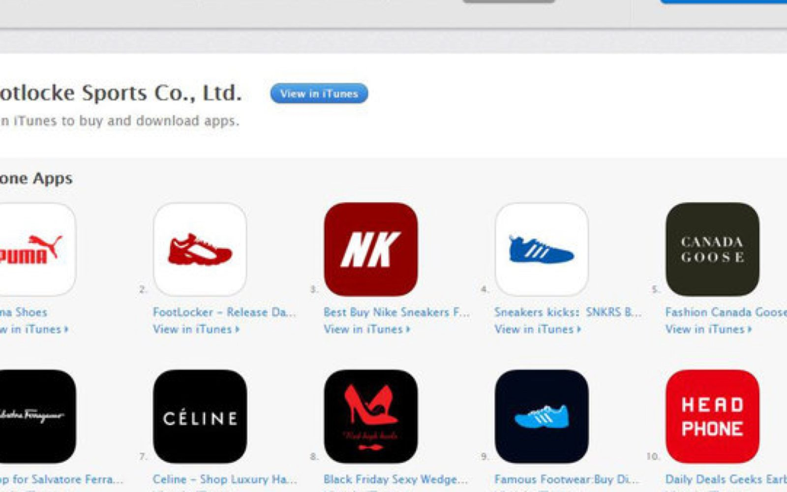 Hundreds of counterfeit branded shopping apps hit the App