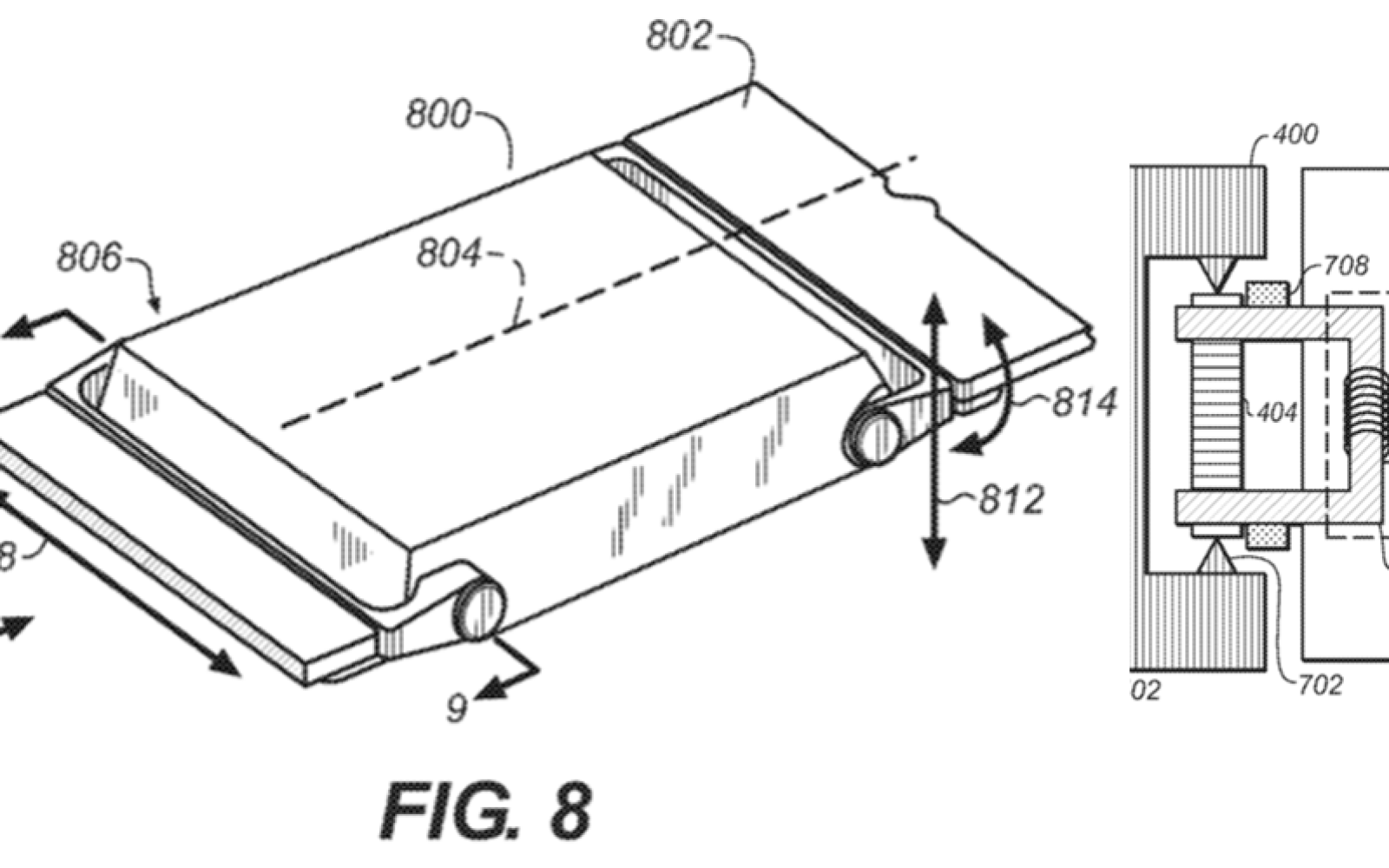 Future Apple Watch models could be slimmer as patent illustrates haptic motor in wristband