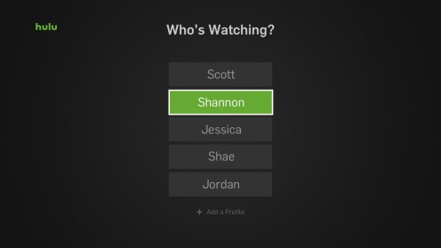 Multiple Hulu Profiles