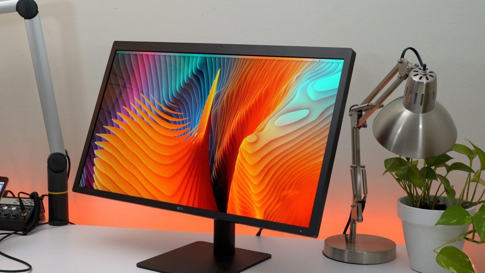 Ultra Fine LG 4K Apple Display