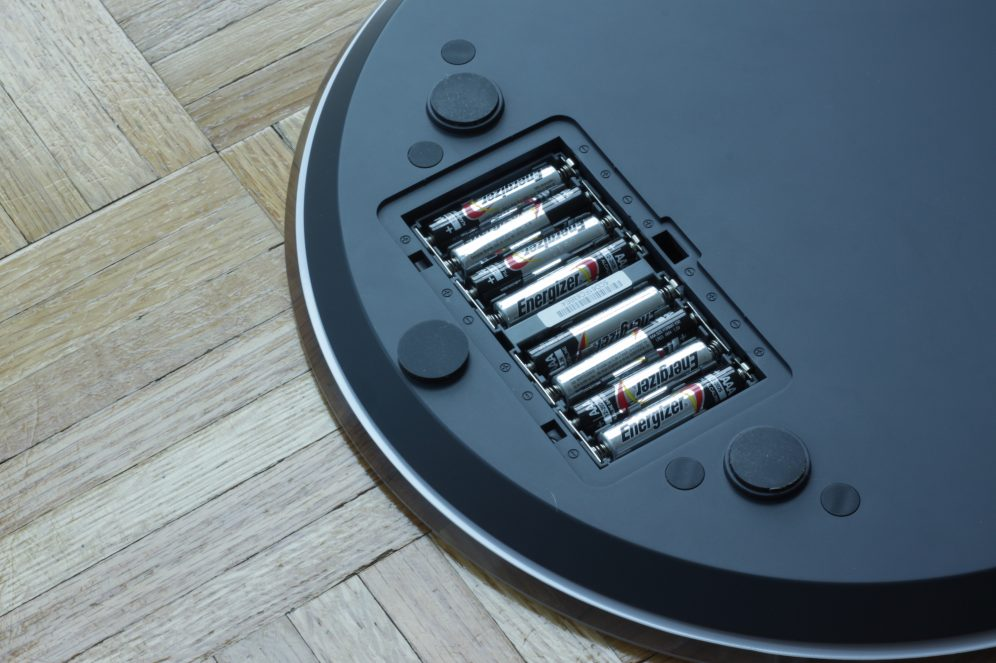 QardioBase Battery compartment