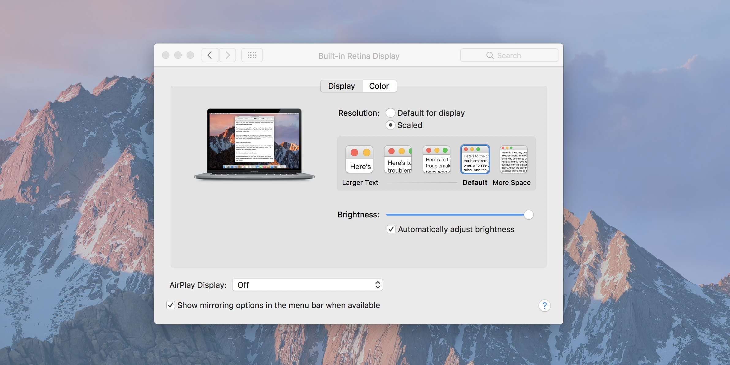 How to reduce image size on macbook pro