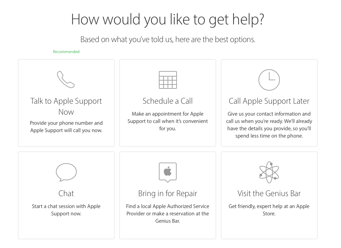 apple customers can now schedule authorized service provider
