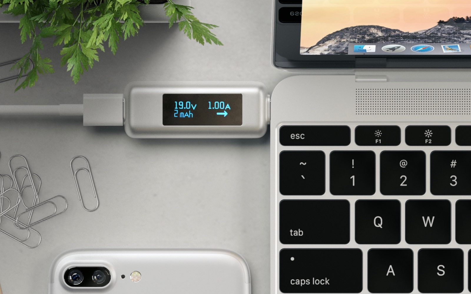 Satechi's new USB-C Power Meter can detect faulty cables and chargers before they damage your MacBook