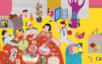 Joyful Reunions by Eszter Chen