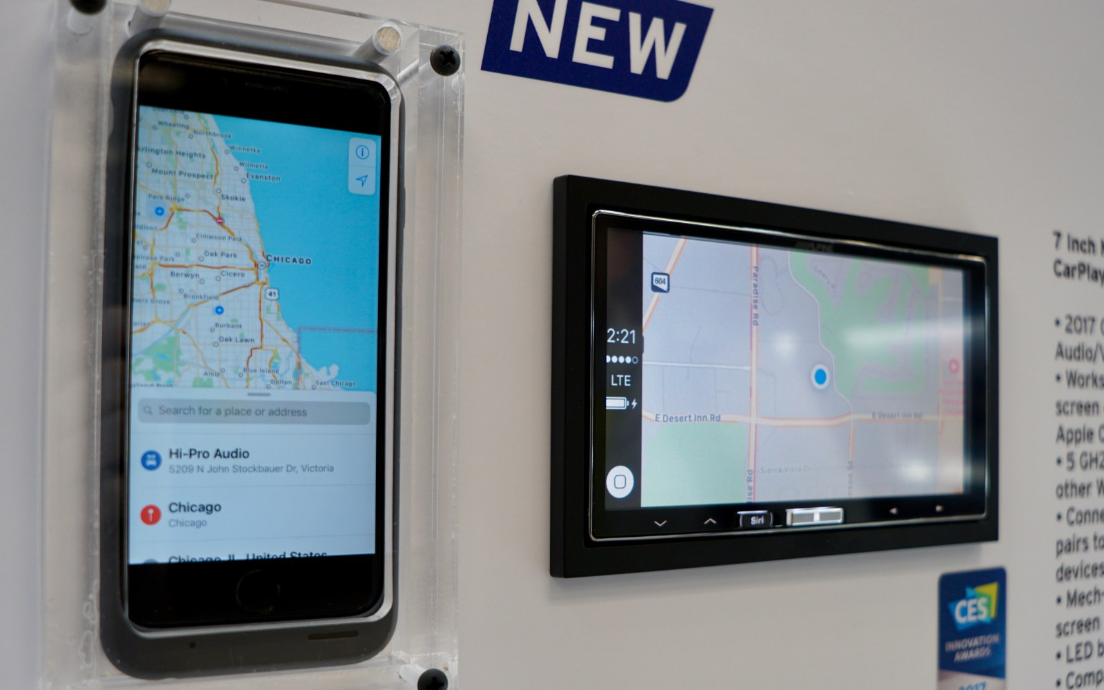 Hands-on: Wireless CarPlay arrives in Alpine's iLX-107 aftermarket receiver [Video]