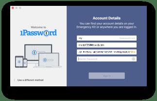 4-1password-account-details