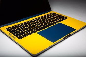 blue-and-yellow