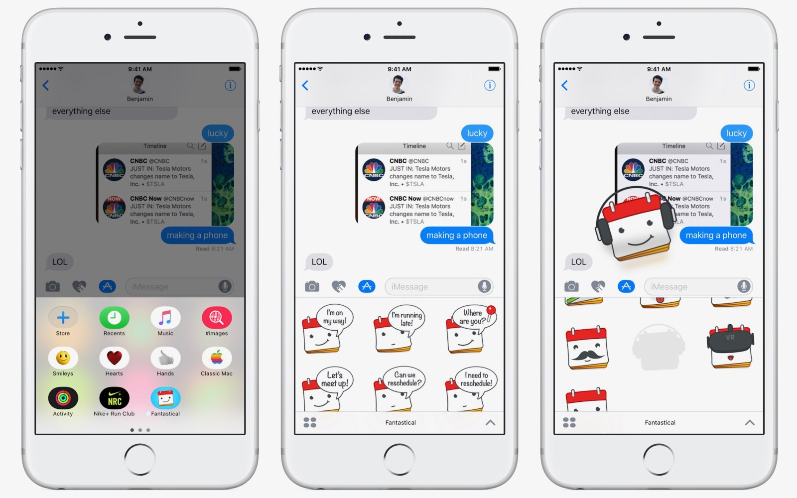 Fantastical for iPhone and iPad gains iMessage sticker pack, rich notifications for calendar alerts and reminders