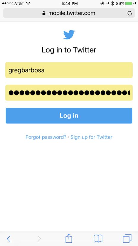 iOS 10 Safari iCloud Keychain Saved Credentials
