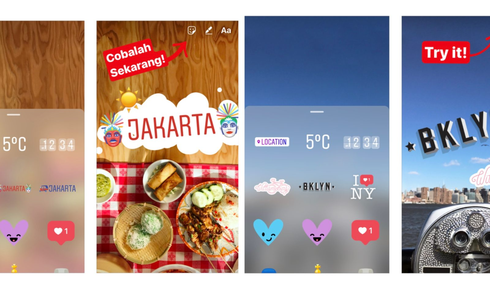 Instagram updates stories feature with support for snapchat like instagram updates stories feature with support for snapchat like geostickers ccuart Images