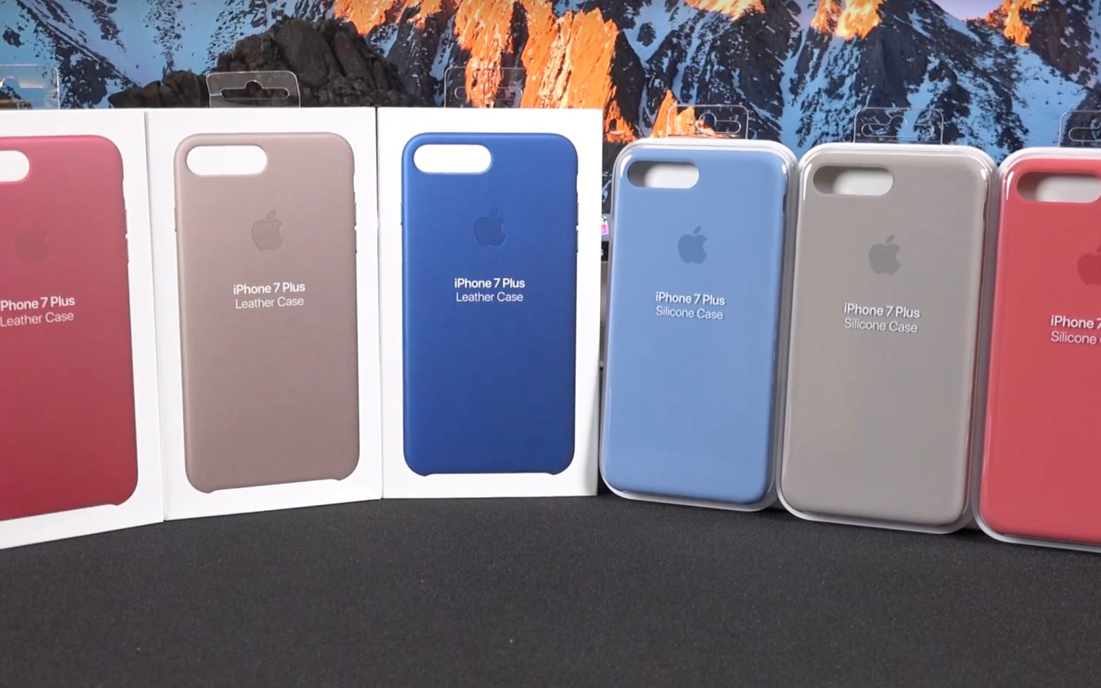 outlet store 3d5fe 3a6f4 Hands on with Apple's new spring 2017 iPhone leather and silicone ...