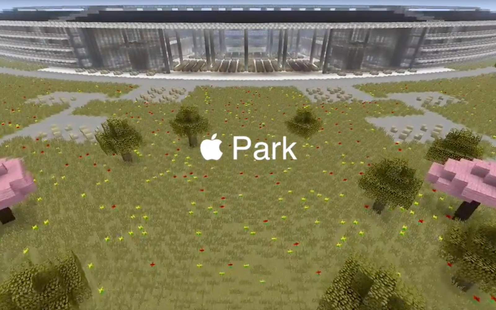 As we wait for Apple to finish the real thing, watch a Minecraft tour of Apple Park now [Video]