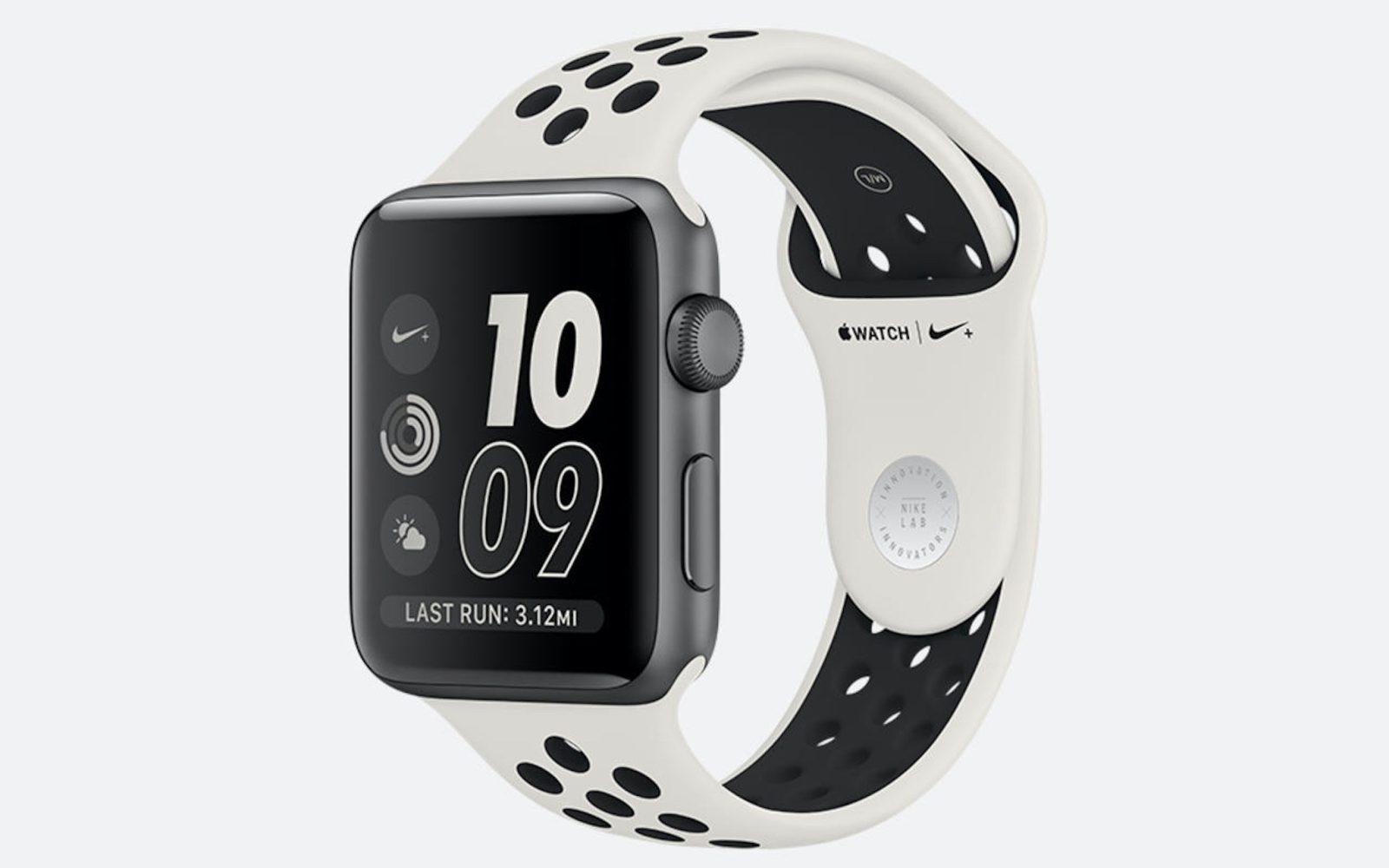 2cc52504f7a49 Nike launching new Apple Watch NikeLab style with Light Bone Black band