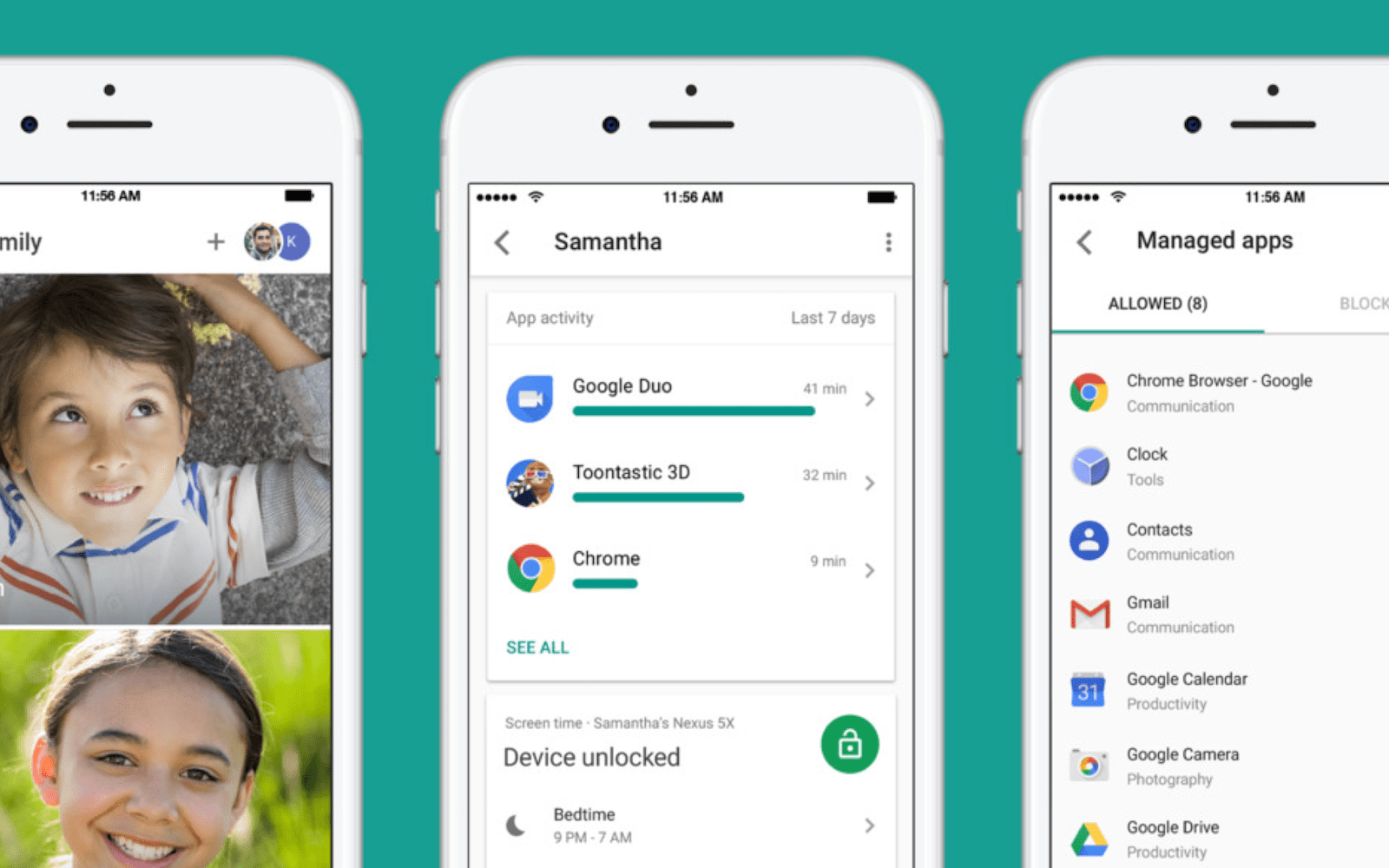 Google's Family Link app now lets you monitor your kid's Android device from an iPhone