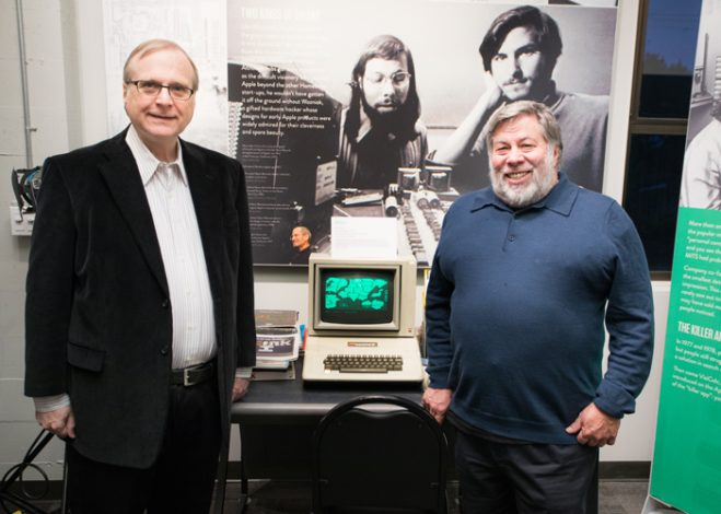 Paul Allen and Woz