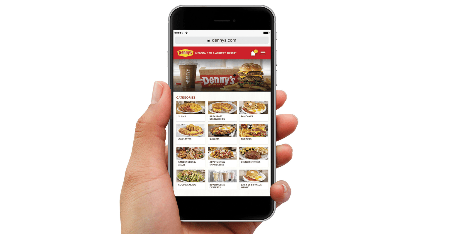 Denny\'s launches online ordering & delivery via mobile app and ...