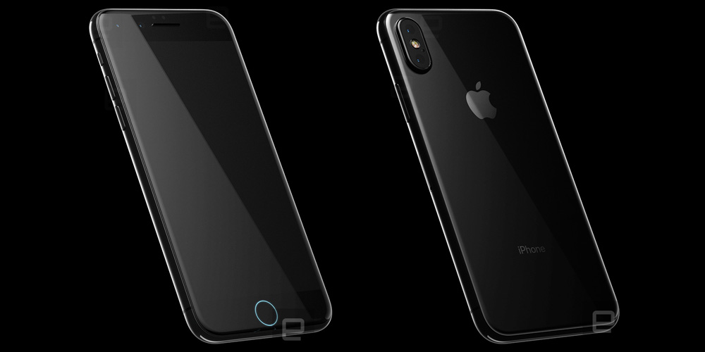 iPhone 8 renders from 'highly detailed CAD files' show embedded Home button, wireless charging [Gallery]