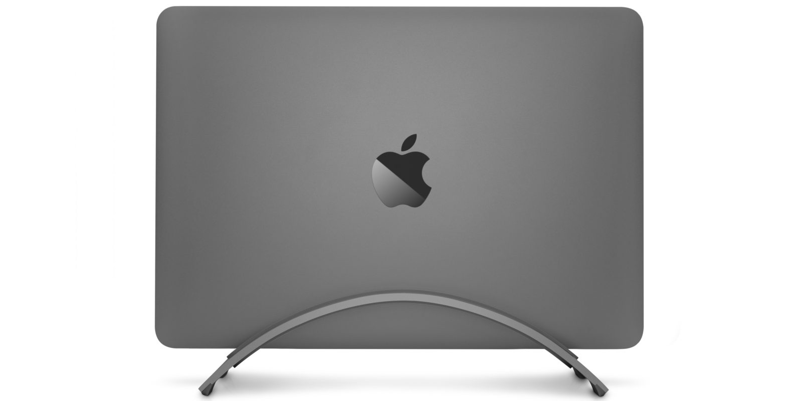 New MacBook Pro BookArc in color-matching Space Gray now available ...