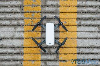 7 DJI Spark Drone Top Down View QuadCopter UAV Small Mini-1006