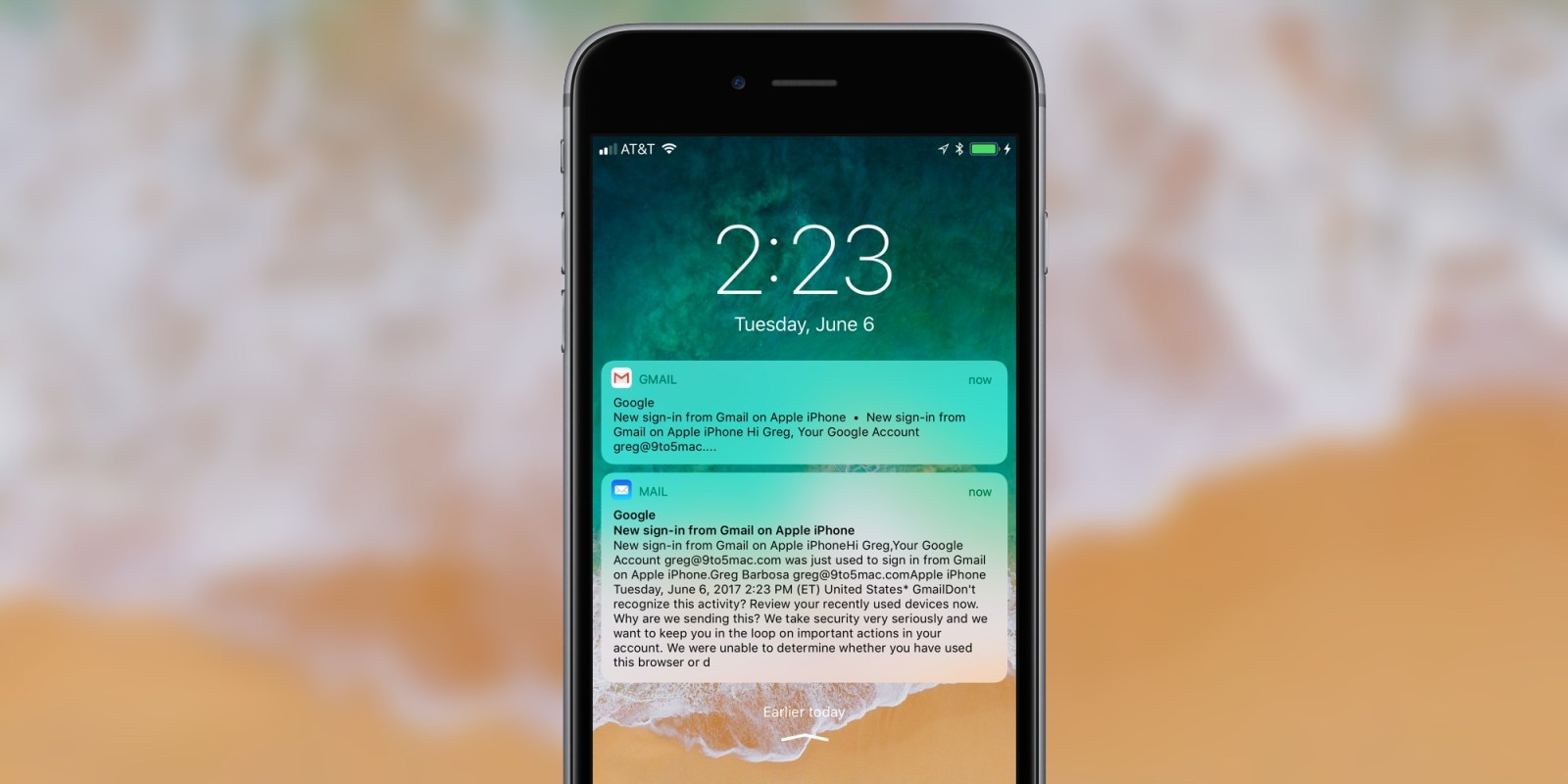 gmail push iphone ios 11 appears to restore gmail push in apple mail 9to5mac 10705