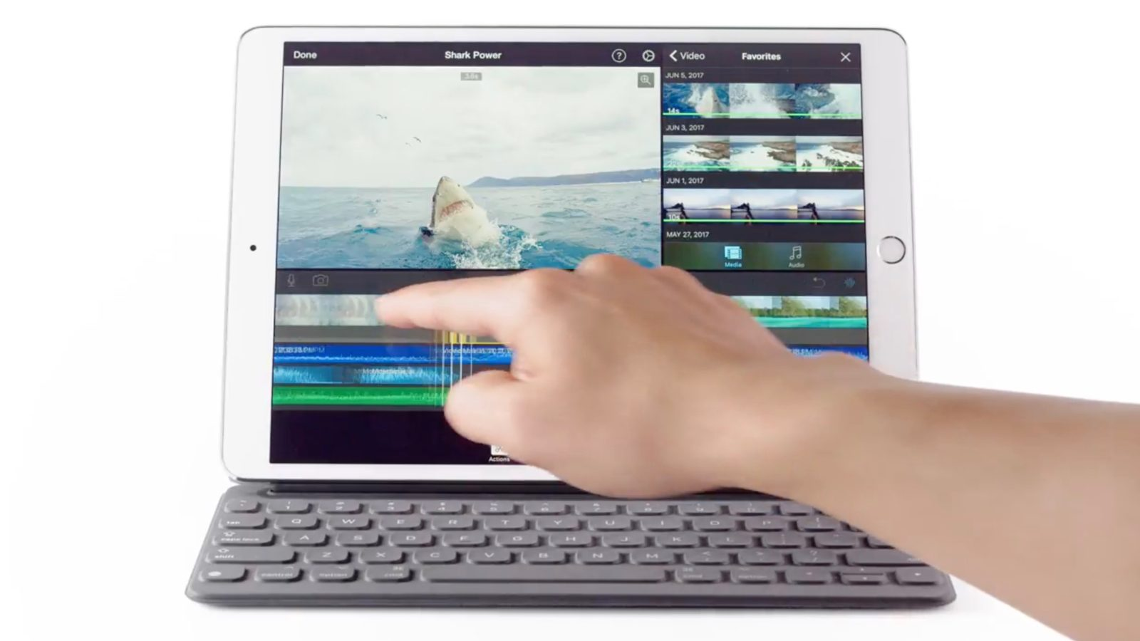 ae367f7c4cf Apple highlights A10X Fusion power, 'no lag' with Pencil in latest iPad Pro  ads