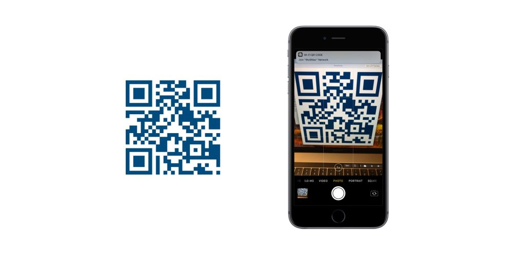 iOS 11 QR Codes Network