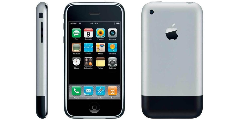 Happy 10th anniversary to the iPhone, 'a revolutionary product that changes everything'