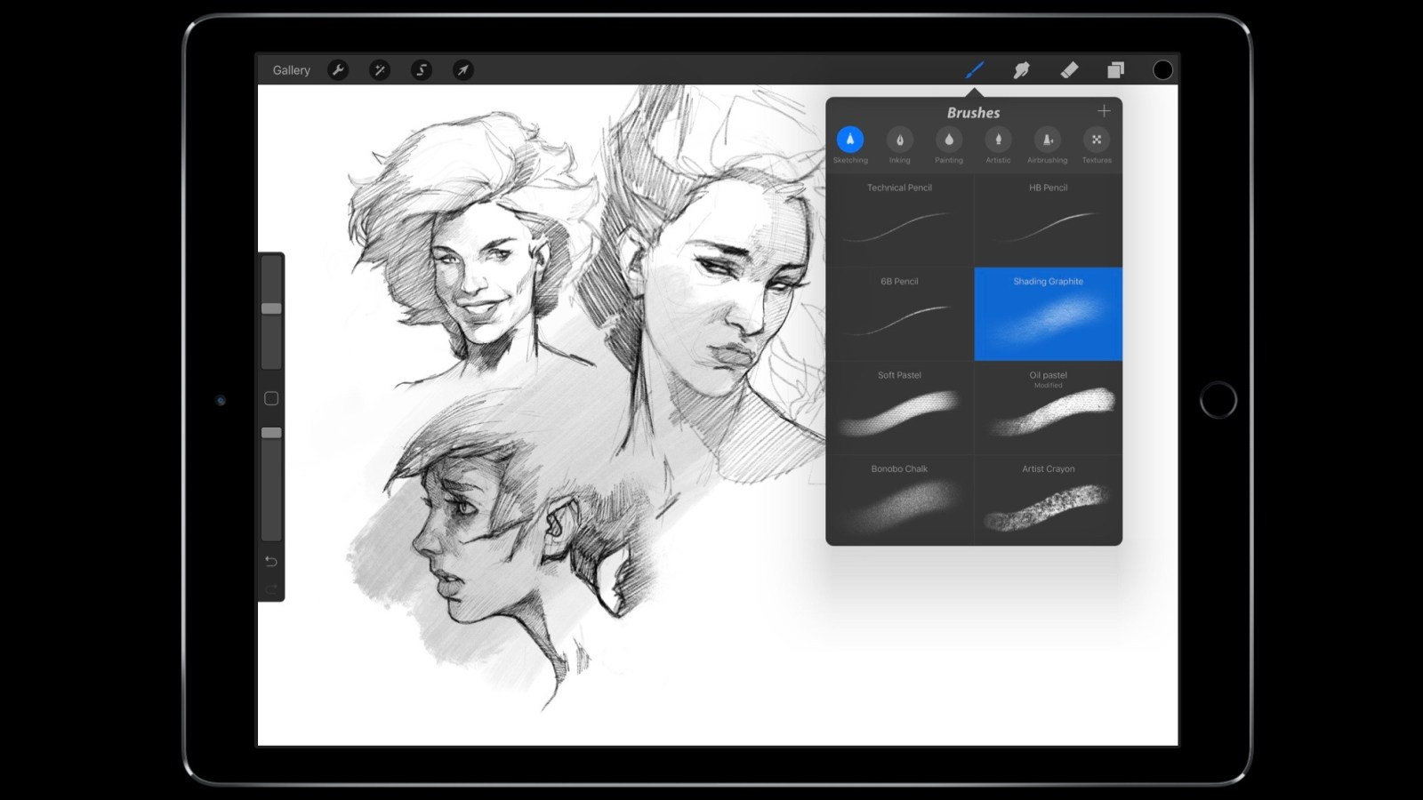 Procreate sketching app updated for new iPad Pros, major update coming this fall