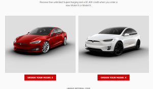 $1,000 off on Tesla vehicles