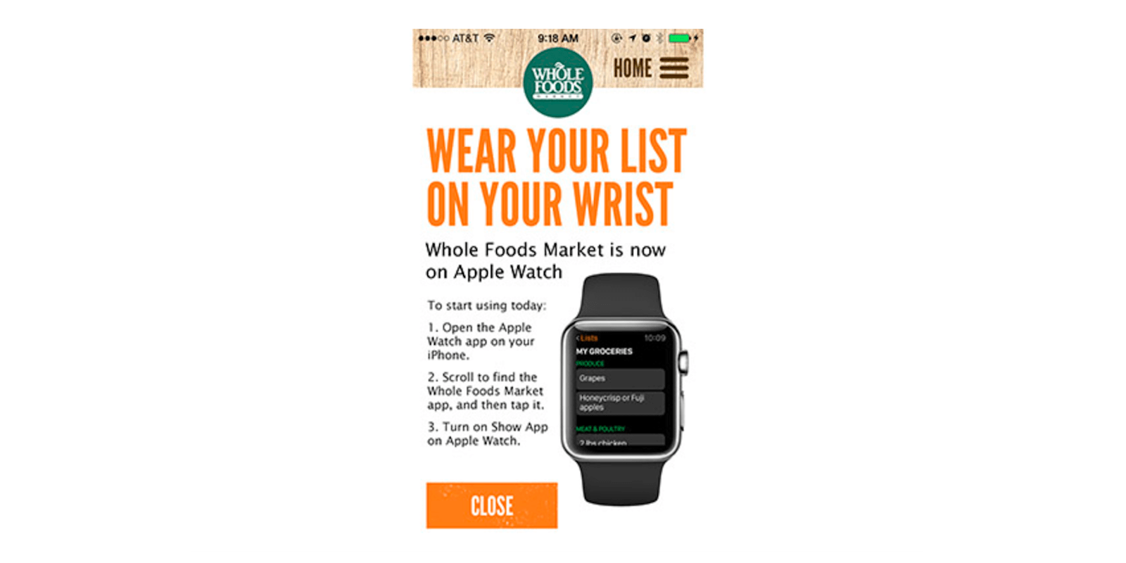 watchOS apps continue to disappear as Whole Foods says
