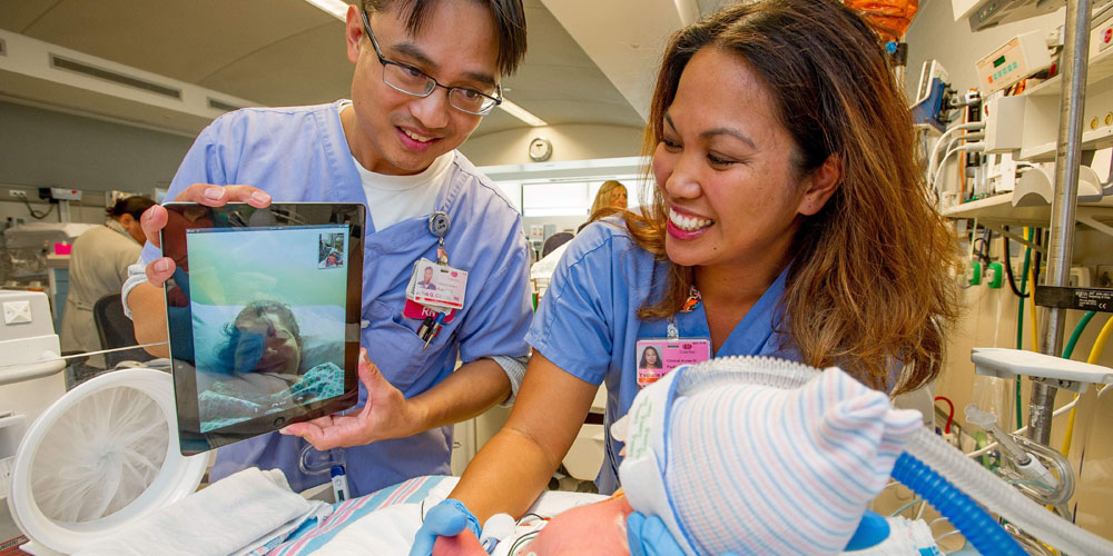FaceTime for babies used in hospital neonatal ICU as Apple wants iPad for every patient