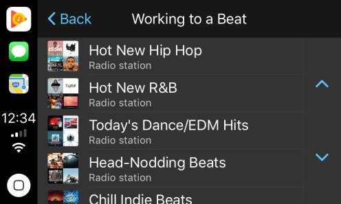 Google Play Music CarPlay 1